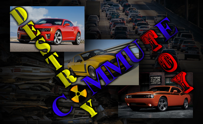 Commute, Toy or Destroy – Chevrolet Camaro vs. Ford Mustang vs. Dodge Challenger