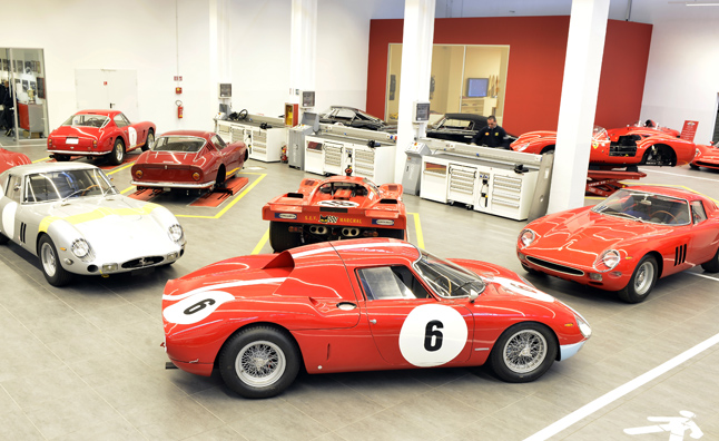 Ferrari Mulling Classic Car Workshop in America