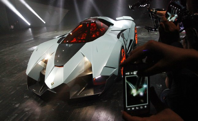 Lamborghini Egoista Photos: Single-Seater Supercar Celebrates 50 Years of Extreme Styling