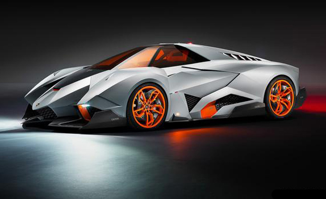 Lamborghini Egoista Single-Seater Supercar Revealed at 50th Anniversary Party