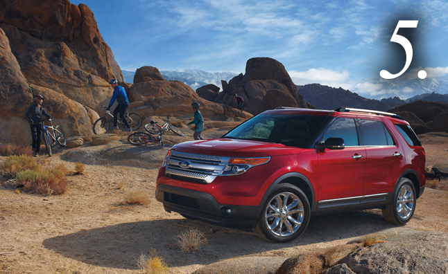 Top-10-Least-Reliable-Vehicles-Ford-Explorer-2WD