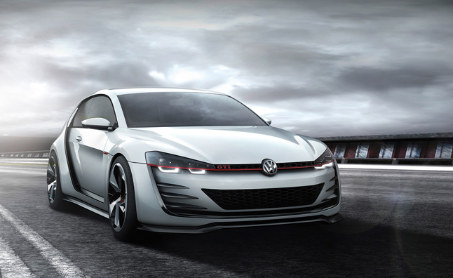 Volkswagen Design Vision GTI Revealed with Supercar Performance