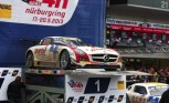 Black Falcon Mercedes SLS AMG GT3 Wins Nurburgring 24