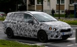 BMW 1 Series GT Seven Seater Spied Testing