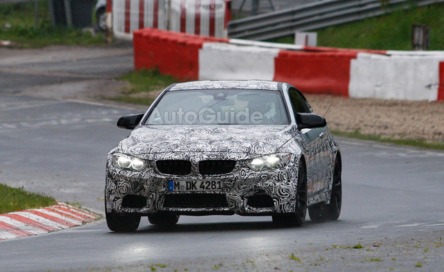 BMW M4 Spied Testing at Nurburgring