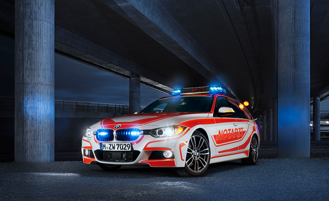 BMW Reveals 2013 RETTmobil Vehicles