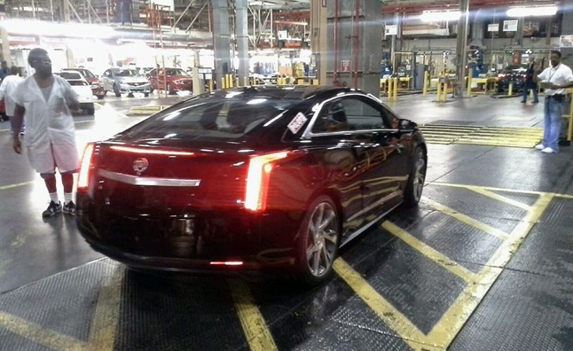 First Production Cadillac ELR Rolls Off Assembly Line
