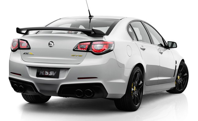 HSV Gen-F GTS is a Supercharged Holden Commodore with 577 HP – Video