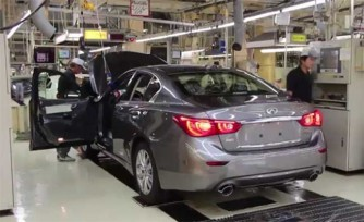 Infiniti Q50 Production Begins in Japan