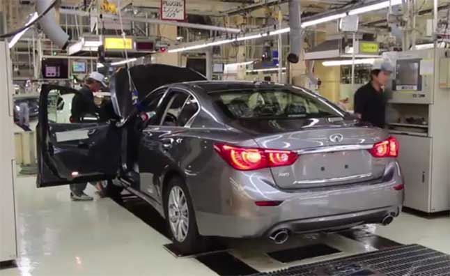 infiniti-q50-production