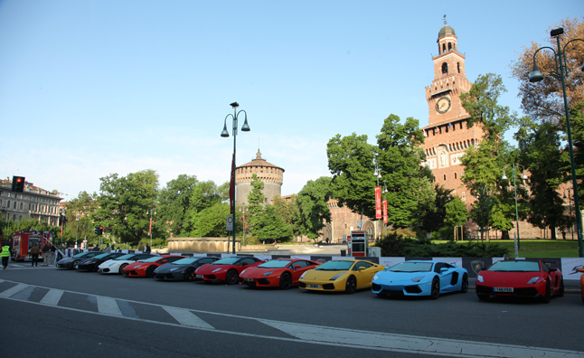 Lamborghini 50th Anniversary Grand Tour Kicks Off
