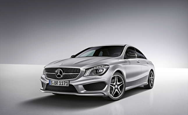 Mercedes-Benz CLA Accessories Announced