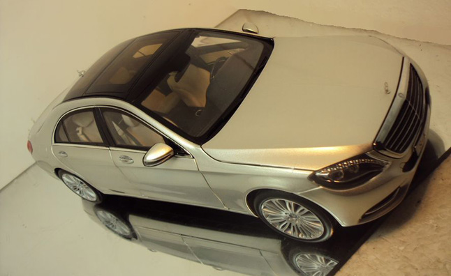 2014 Mercedes S-Class Previewed in Scale Model