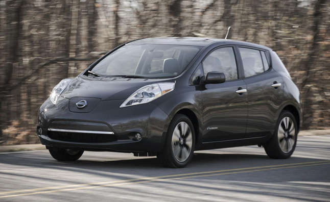 Nissan Leaf Earns Earns IIHS 'Top Safety Pick'