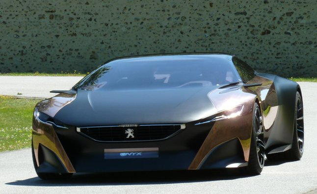 Peugeot Onyx Ride a Prize at Goodwood Festival of Speed