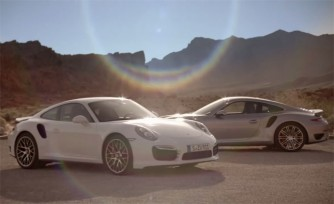 2014 Porsche 911 Turbo Shows Off