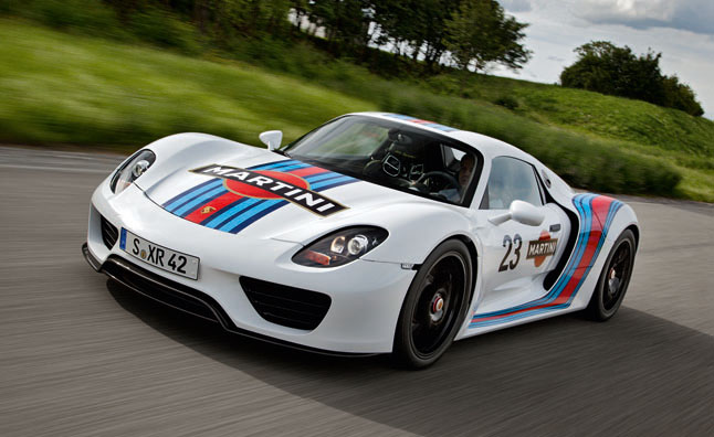 Porsche 918 Spyder Still Available