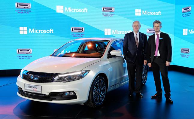 Qoros Developing Windows Azure-Based Infotainment