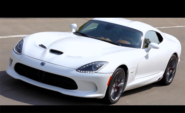 One-Off 2013 SRT Viper GTS Heading to Auction – Video