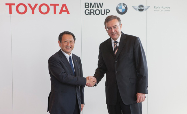 Toyota, BMW Sports Car Concept to Make Tokyo Motor Show Debut