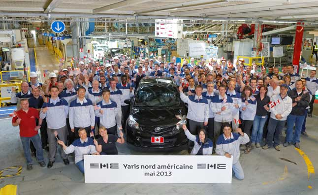 Toyota Yaris Production Begins in France