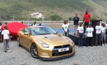 Usain Bolt Gets a Special Gold 2014 Nissan GT-R in Jamaica
