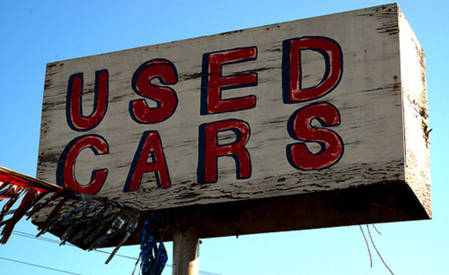 Used Car Prices Falling This Year