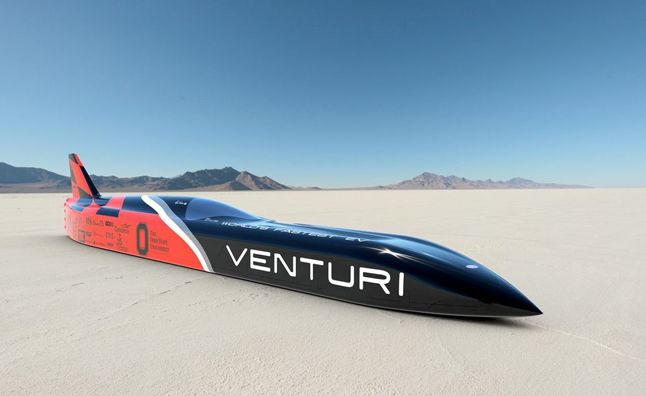 Venturi VBB-3 Aiming for Electric Car World Speed Record