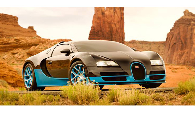 Transformers 4 Bugatti Veyron Gives Autobots new Speed