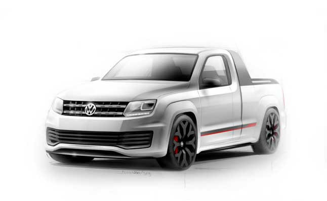 Volkswagen Amarok R-Style Concept Heading to Worthersee