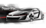 Volkswagen Design Vision GTI Teased with 503-HP