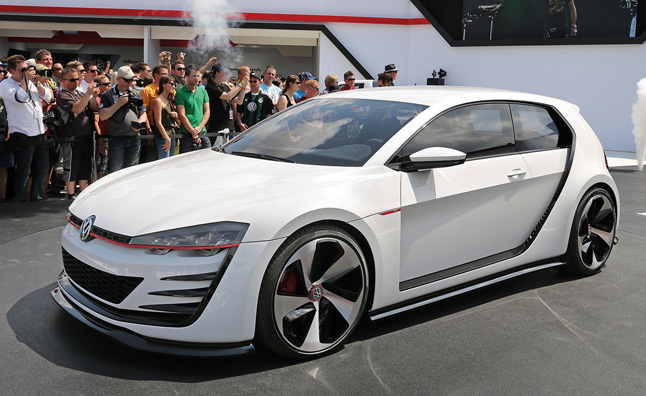 Volkswagen VR6 Engine Previewed in Design Vision GTI