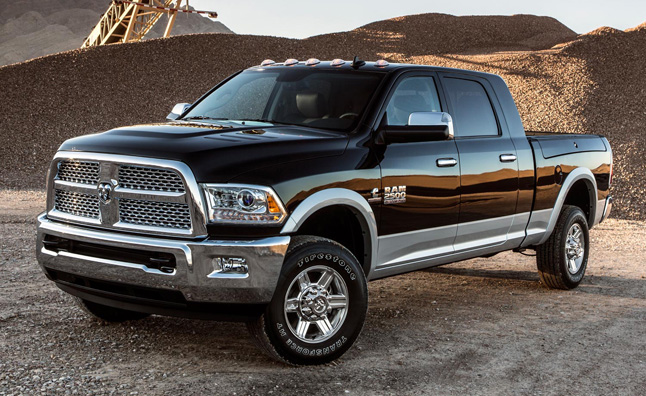 Chrysler Recalls 1,200 Ram Pickups for Software Glitch