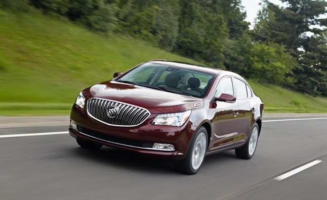 2014 Buick Lacrosse Priced from $34,060