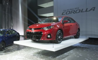 2014 Toyota Corolla Video, First Look