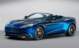 2014 Aston Martin Vanquish Volante is Dripping With Sex Appeal