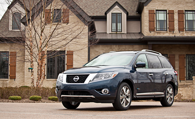 2014 Nissan Pathfinder Priced From $29,545