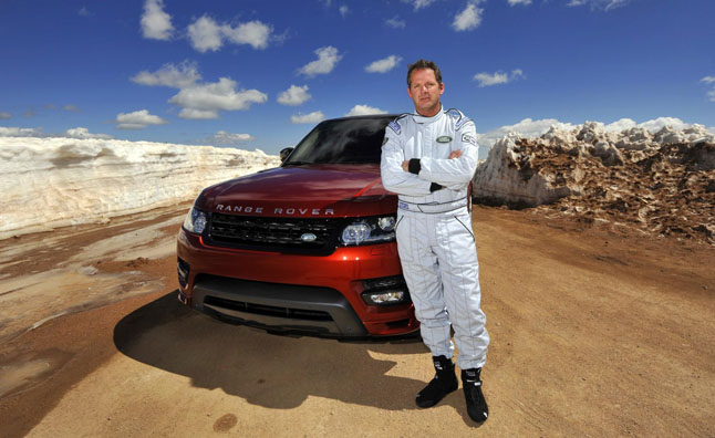 2014 Range Rover Sport Sets Pikes Peak Record