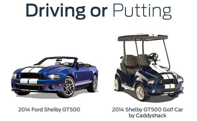 2014-shelby-gt500-golf-cart