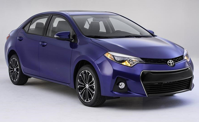 2014 Toyota Corolla Photos Leaked