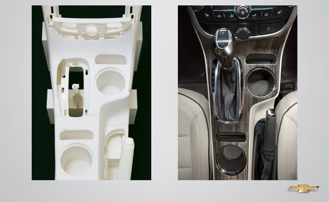 2014 Chevy Malibu Refresh Made Possible by 3D Printing