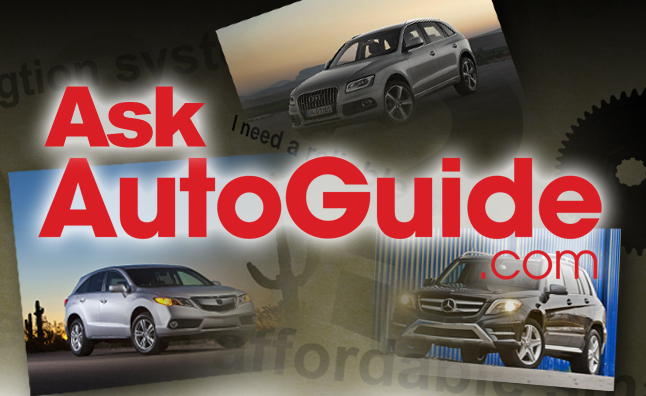 Ask AutoGuide No. 16 – Audi Q5 vs. Acura RDX vs. Mercedes-Benz GLK250