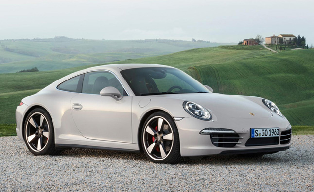 Porsche 911 50th Anniversary Edition Appropriately Limited to 1,963 Units
