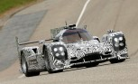 Porsche LMP1 Prototype Racer Takes its First Laps