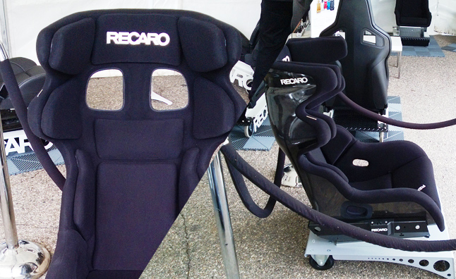Recaro P 1300 is the World's First Adjustable Racing Seat