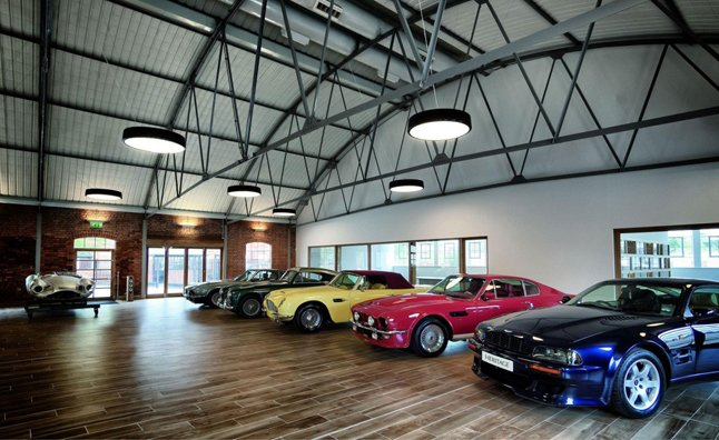 Aston Martin Heritage Showroom Opens in UK