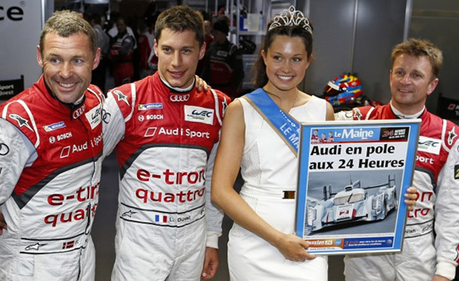 Audi Qualifies 1st, 2nd for 2013 24 Hours of Le Mans