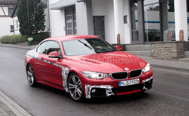 2014 BMW 4 Series Convertible Revealed in Spy Photos