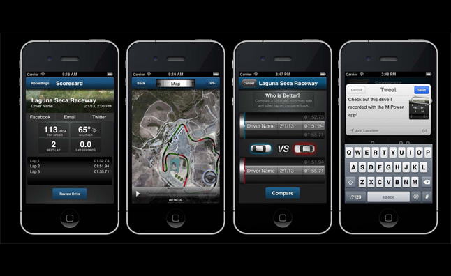 BMW Launches M Power Data Acquisition App