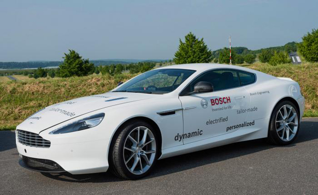Aston Martin DB9 Plug-in Hybrid DB9 Built by Bosch